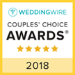 Weddings As You Wish 2018 Couples Choice Award Winner